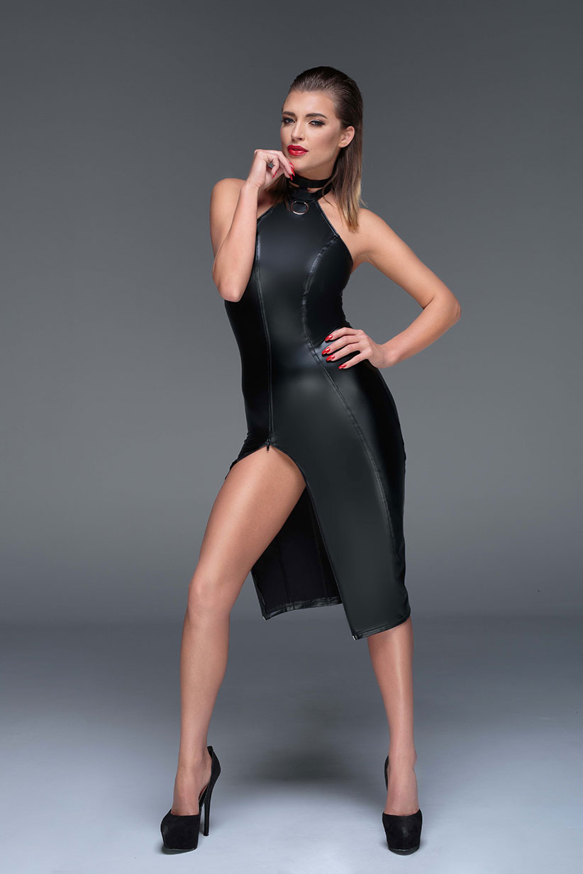 noir-handmade-muse-F160-powerwetlook-pencil-dress
