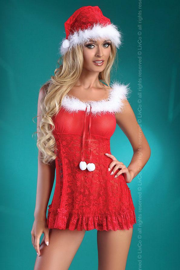 Livco-livia-corsetti-Christmas-Bell-chemise-set