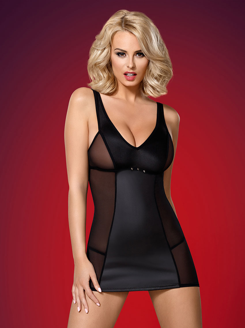 Obsessive-823-DRE-1-dress-and-thong