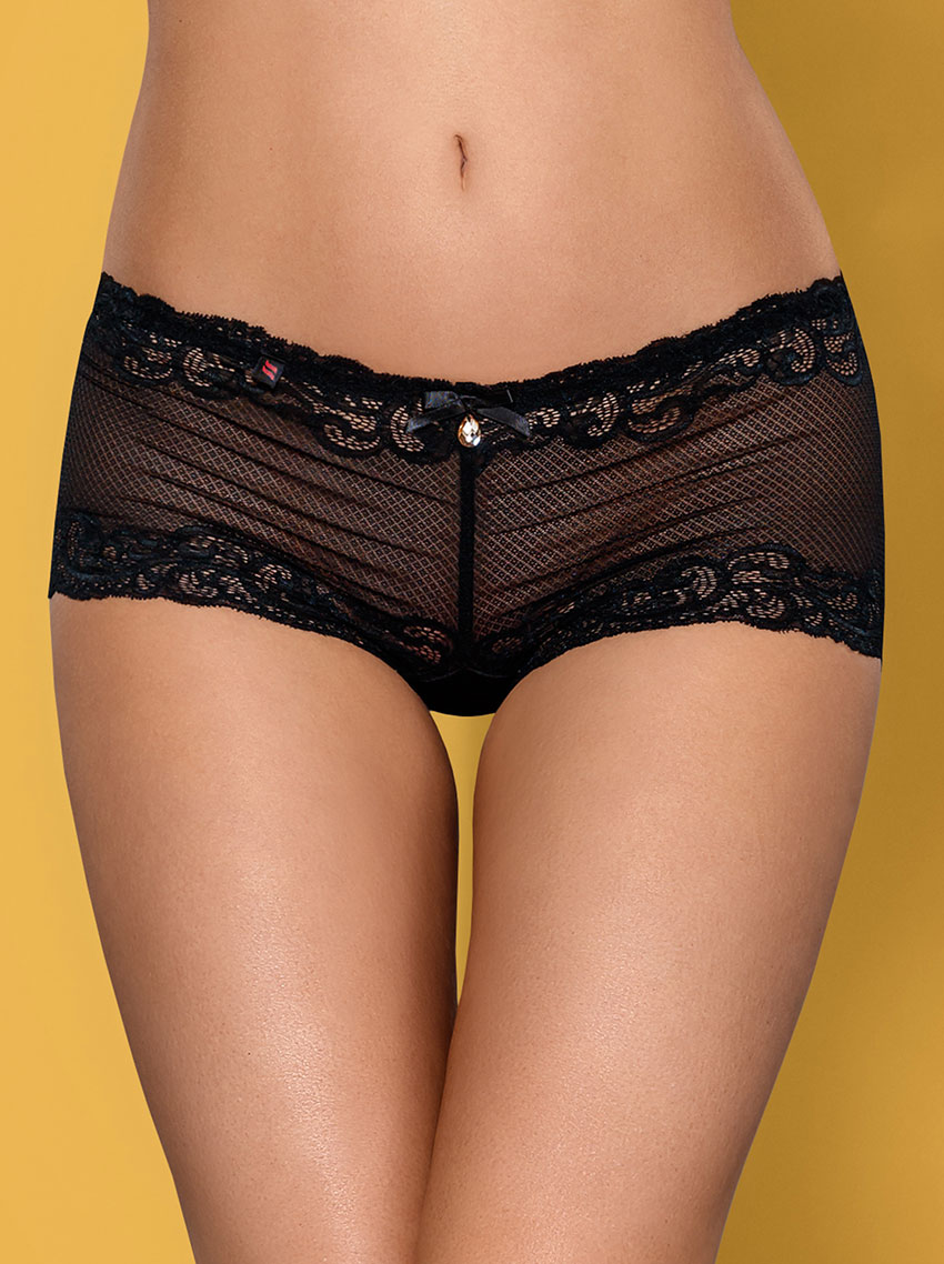 Obsessive 830-SHO lace shorties