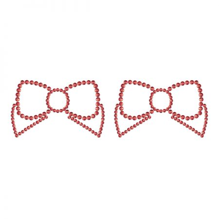 mimi-bows-nipple-pasties-nipple-gems-red-bows