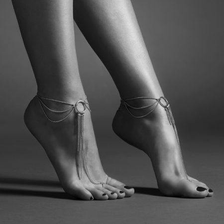 Bijoux-Indiscrets-0279-Magnifique-Feet-Chain-Silver