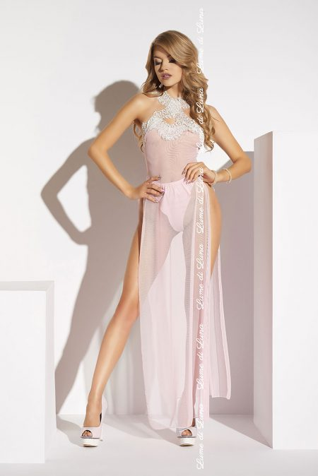 lume-di-luna-Albenga-long-chemise-pink-luxury-gown