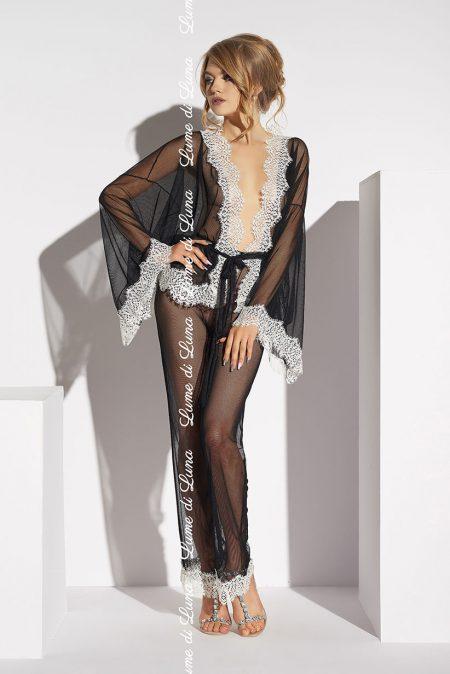 lume-di-luna-Ardea-black-lingerie-set-with-peignoir