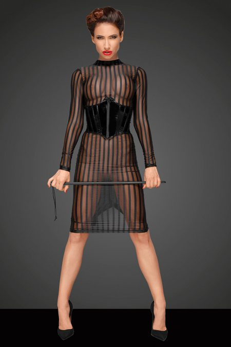 Noir-Handmade-Decadence-F182-sexy-dress-with f193 corset