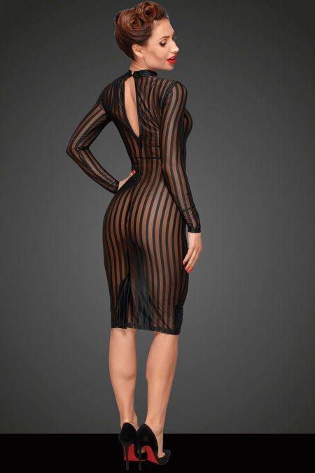 Noir-Handmade-Decadence-F182-sexy-dress-back