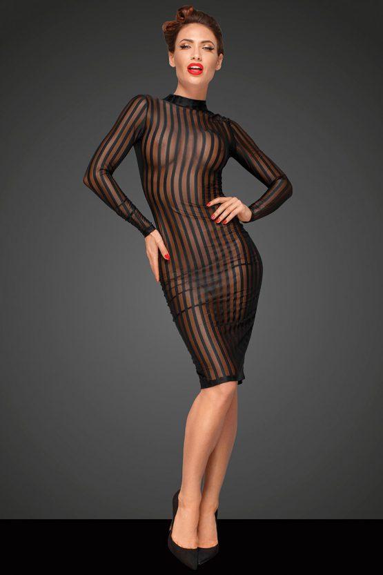 Noir-Handmade-Decadence-F182-sexy-dress-front