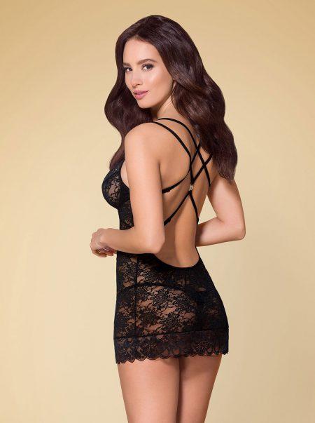 Obsessive-860-CHE-1-sexy-lingerie-sensual-black-chemise-back