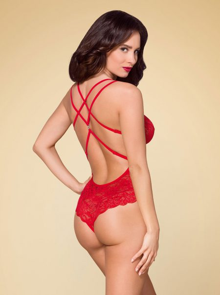 Obsessive-860-TED-3-sexy-lingerie-erotic--red-teddy-back