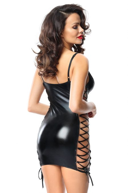 demoniq-Aline-black-sexy-dress-back