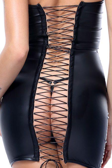 demoniq-Greta-black-sexy-dress-back-detail