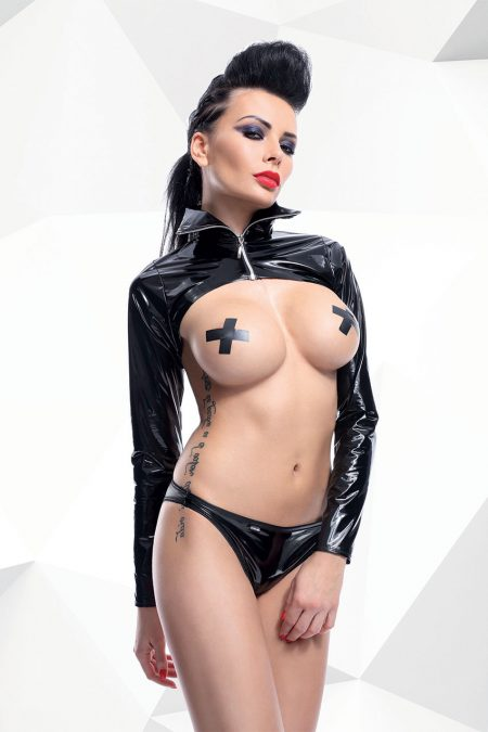 demoniq-Nora-black-sexy-jacket-and-panties-erotic-set