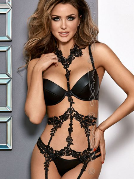 AXAMI-V-8341-black-wetlook-bra