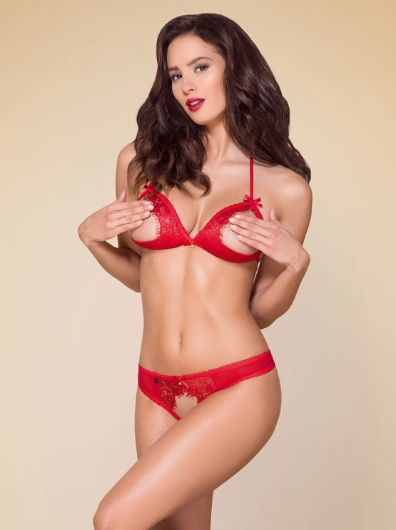 Obsessive-870-SEC-3-red-open-cup-crotchless-lingerie-set