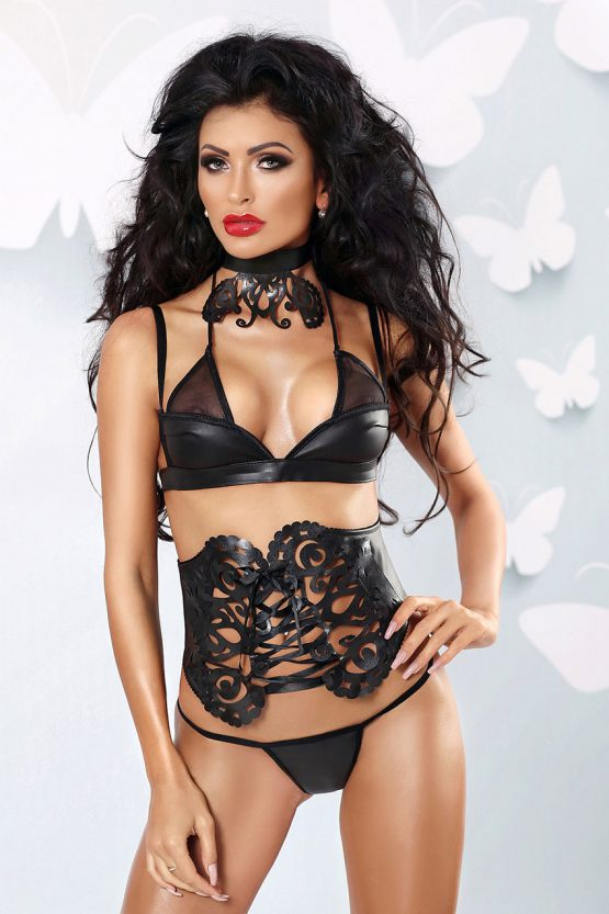 Lolitta-Ensemble-sexy-faux-leather-and-tulle-black-lingerie-set