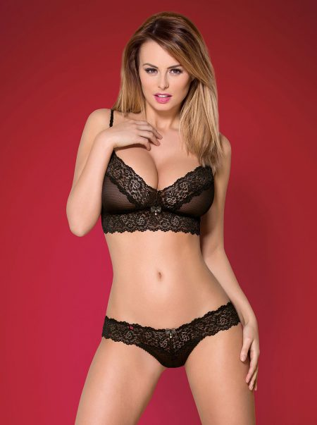 Obsessive-852-SET-black-lace-bra-and-thong-set