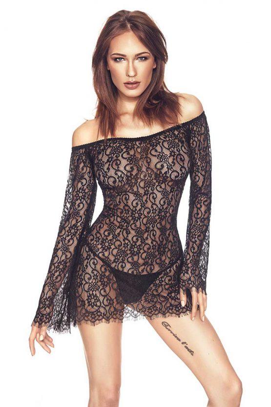 Anais-POPPIE-sexy-black-lace-chemise