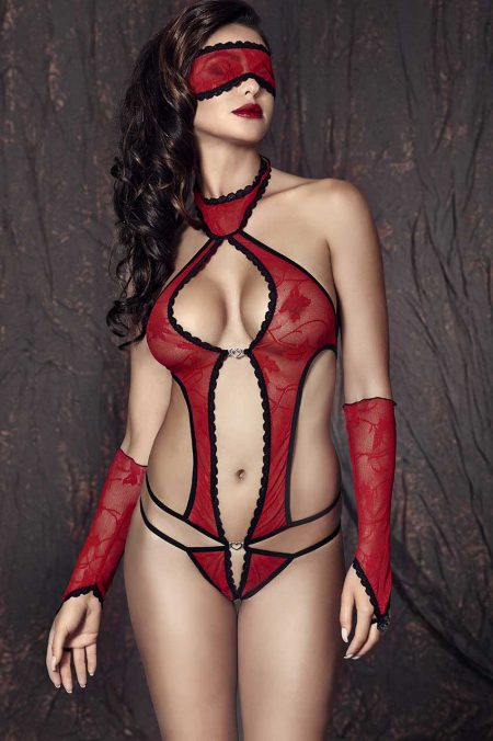 Anais-Ashley-see-through-lingerie-set-black-and-red-sexy-teddy