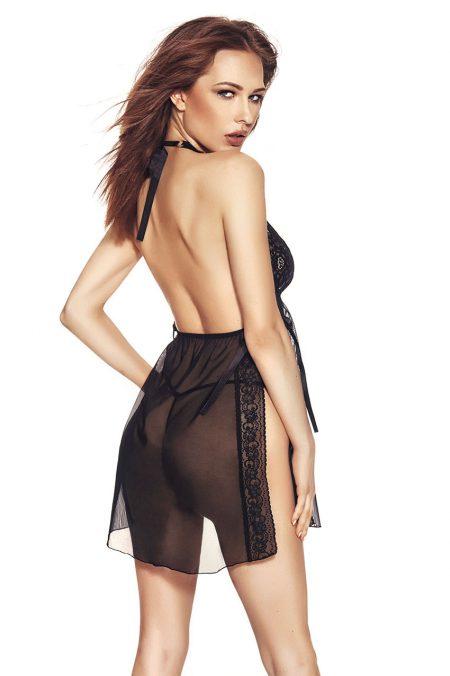 Anais-LULA-sexy-black-chemise-back
