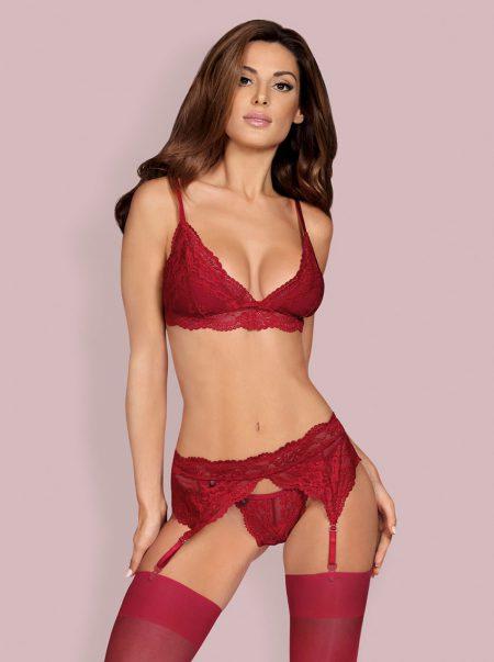 Obsessive-810-SEG-3-seductive-lingerie-set-bordeaux-ruby-color
