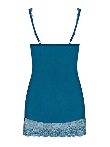 Obsessive-miamor-erotic-sensual-chemise-turquoise-blue-packshot-back
