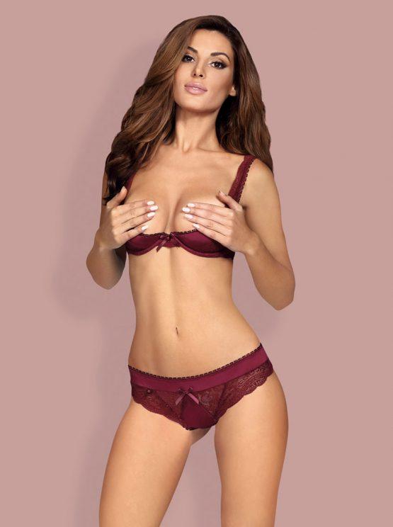 Obsessive-miamor-sensual-lingerie-set-ruby-maroon-open-bra