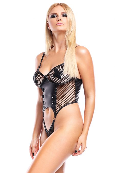 demoniq-dark-desire-Reja-black-mesh-wetlook-teddy-DDReja001-body