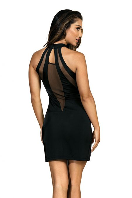 V-9269-axami-lingerie-sexy-black-dress-see-through-decolette-with-shimmering-stone-erotic-clubwear-back