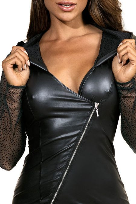 V-9319-axami-lingerie-sexy-mini-dress-with-zipper-and-see-through-sleeves-erotic-clubwear-party-on-ibiza-close-up