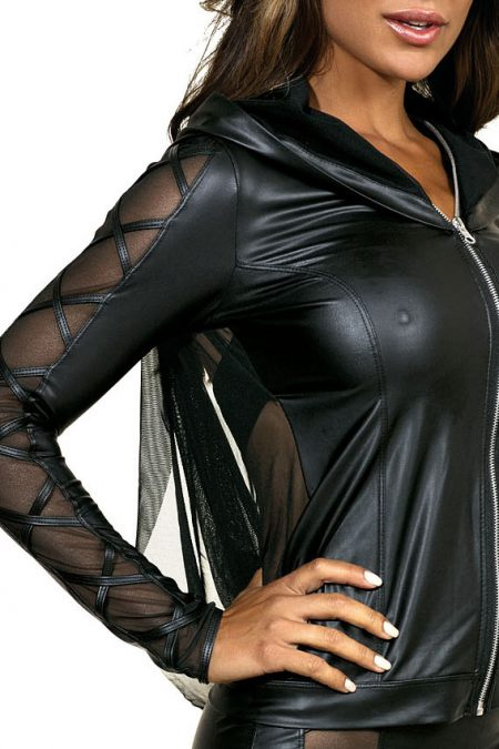 V-9320-Axami-erotic-wetlook-jacket-with-see-thru-inserts-clubwear-party-on-ibiza-close-up