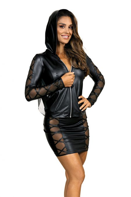V-9329-V-9320-Axami-erotic-wetlook-jacket-mini-skirt-with-see-thru-inserts-clubwear-party-on-ibiza-1
