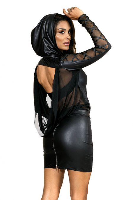 V-9329-V-9320-Axami-erotic-wetlook-jacket-mini-skirt-with-see-thru-tulle-inserts-clubwear-party-on-ibiza-back