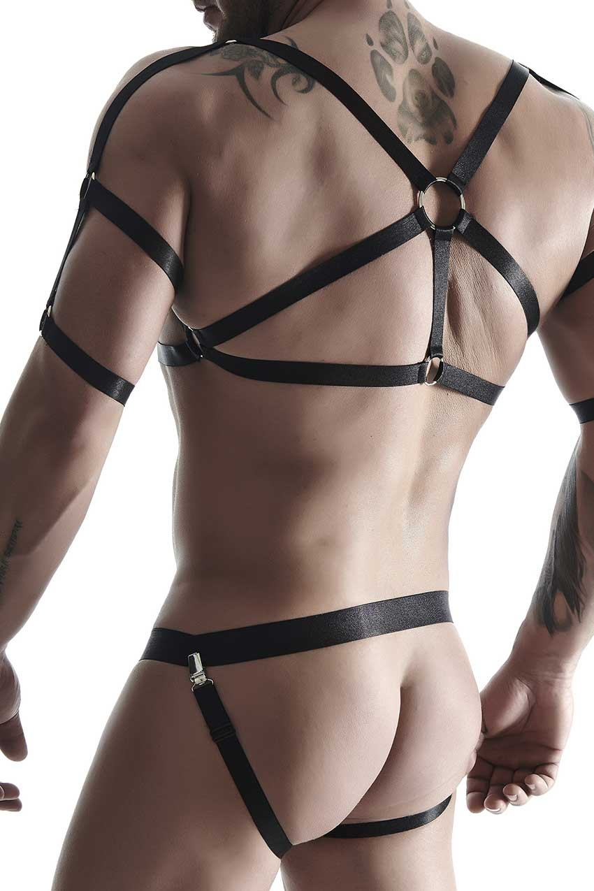SET010-back-RFP-Regnes-Fetish-Planet-mens-erotic-set-rubber-top-and-erotic-panties-clubwear-for-men