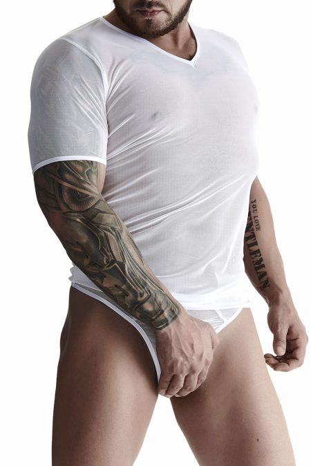 TSH009-SET009-RFP-Regnes-Fetish-Planet-mens-erotic-set-t-shirt-mens-panties-white-clubwear-for-men