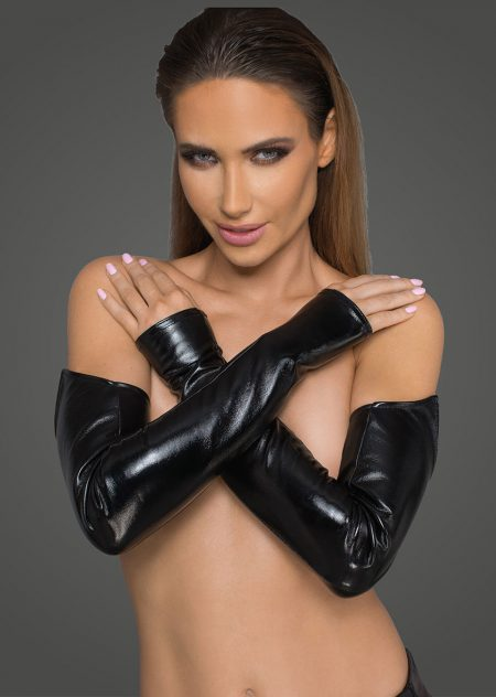 F197-sexy-wetlook-gloves