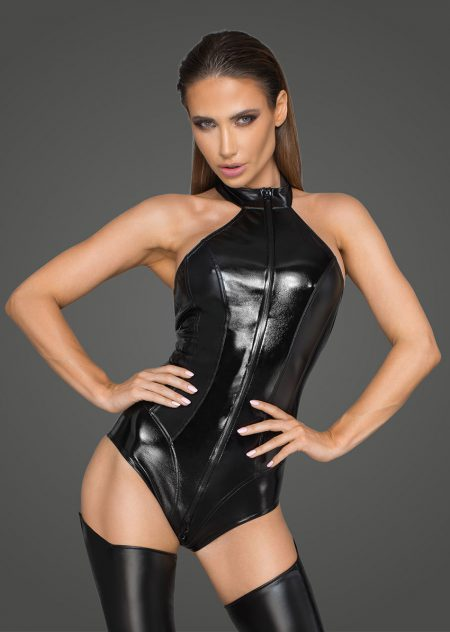 F198-sexy-clubwear-teddy-black-wetlook