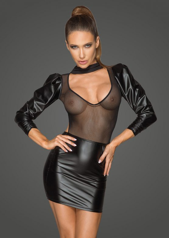 F201-sexy-dresses-clubwear-dress-with-puffed-sleeves