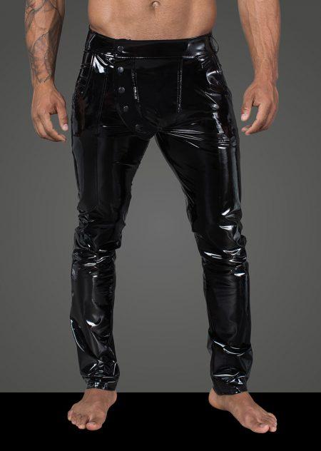 H060-mens-clubwear-fetishwear-wetlook-mens-pants-black-trousers