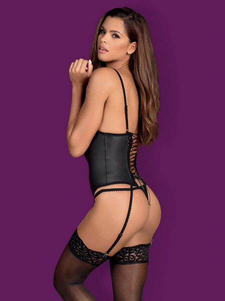 Obsessive-laluna-erotic-lingerie-black-corset-with-lace-plus-thong-included-back