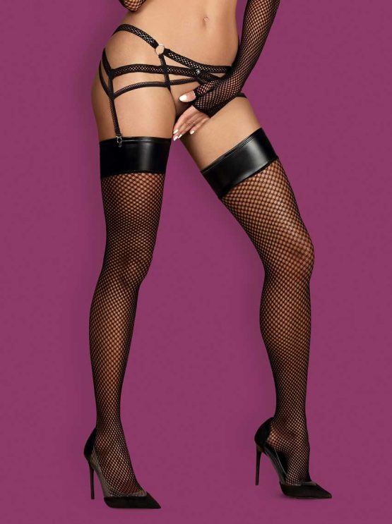 Obsessive-darkie-fishnet-stockings-with-eco-leather-