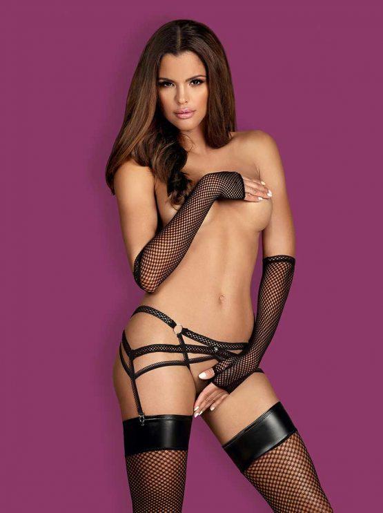 Obsessive-darkie-strappy-garter-belt-erotic-lingerie-open-crotch