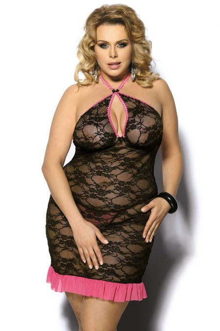 Angels-Never-Sin-Plus-Size-lingerie-Sinopa-lace-chemise-sexy-lingerie-with-pink-trimmings