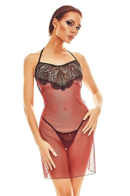 Anais-erotic-lingerie-Fantasme-sexy-and-sensual-chemise-see-through-lingerie