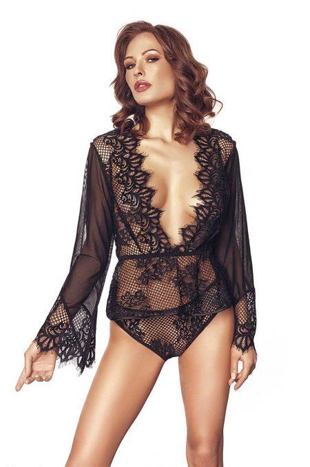 Anais-erotic-lingerie-Libby-luxury-black-teddy-transparent-body
