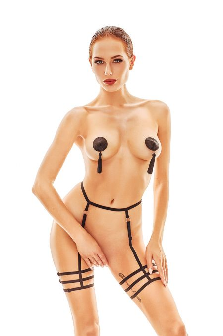 Anais-erotic-lingerie-Mellia-Strappy-harness-garter-belt-body-harness