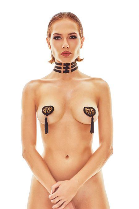 Anais-erotic-lingerie-Ritmo-Strappy-collar-harness