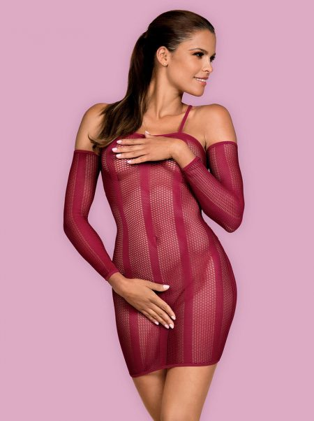 Obsessive-dressie-knitted-see-through-dress