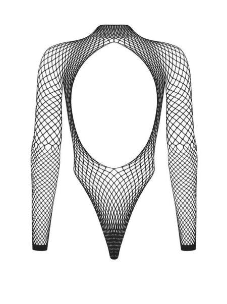 obsessive-b125-black-fishnet-teddy-see-trough-body-packshot-back