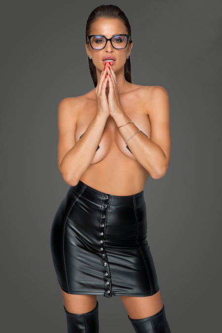 noir-handmade-f226-naughty-wetlook-mini-skirt