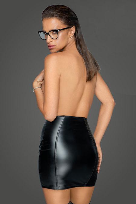 noir-handmade-f226-naughty-wetlook-mini-skirt-back